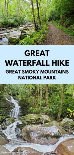 Gatlinburg Vacation, Tennessee Vacation, Tennessee Gatlinburg, Tennessee Cabins, Vacation Places, Vacation Spots, Vacation Ideas, Nc Waterfalls, Waterfall Hikes