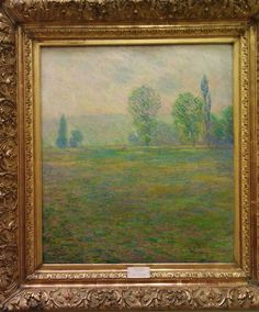 Meadows at Giverny - Claude Monet, 1888, State Museum of New Western Art, Pushkin Museum, Moscow, Russia