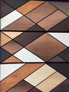 Arte de pared de madera pintura sobre madera en acrílico