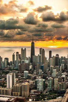 Aerial photography - Chicago -www.amyphotochicago.com