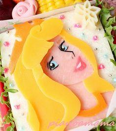 Princess Aurora sandwich
