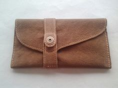 Leather hand made tabacco pouch.