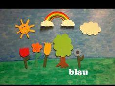 ▶ deutsches Kinderlied: Meine Lieblingsfarbe - German children's song to learn…