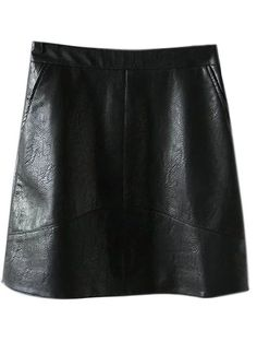 SHARE & Get it FREE   A Line PU Leather Mini SkirtFor Fashion Lovers only:80,000+ Items • New Arrivals Daily Join Zaful: Get YOUR $50 NOW!