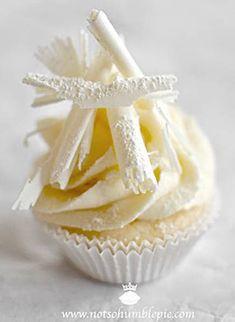 cupcake au chocolat blanc / White Chocolate Cupcake