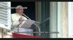 Francisco en el Ángelus: Si cada uno busca acumular para sí, jamás habrá justicia