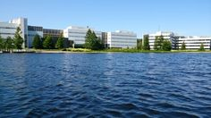 View from Jyväsjärvi (Päijänne) lake July 2015 Multi Story Building, University, River, Outdoor, Outdoors, Outdoor Games, The Great Outdoors, Community College, Rivers