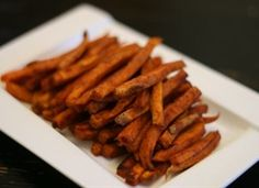 Clean Eating - Sweet Potato Fries With Cinnamon & Paprika