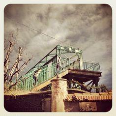 Bridge, Porta Genova's District, Milan, Italy