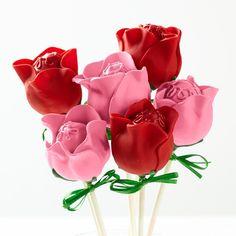 cake pops tema rosas - Pesquisa Google