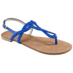 Esma Braided Flat Sandal. Bought these a few weeks ago and they are too cute!