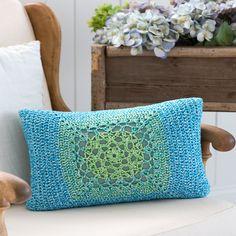 Mod Granny Pillow Front