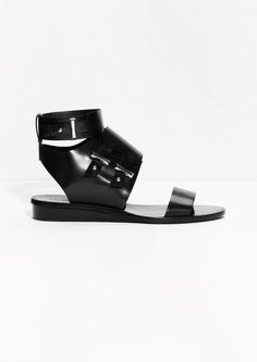 & Other Stories   Pin Buckle Sandals