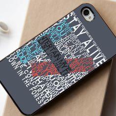 Twenty One Pilots 21 Pilots Lyrics - iPhone 4/4S, iPhone 5/5S, iPhone 5C Case, Samsung Galaxy S4/S5 Case - Shadeyou Phone Cases