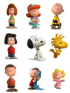 Snoopy and The Peanuts Gang. Charlie Brown Characters, Peanuts Characters, Cartoon Characters, Snoopy Birthday, Snoopy Party, Funny Birthday, Charlie Brown Christmas, Charlie Brown And Snoopy, Peanuts Cartoon