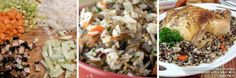 CeciStyle V99: Summertime: Recipes for Style - Whole Roasted Chicken Stuffed With Craberry-Apple Wild Rice