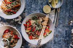 PAISTETUT VEGENUUDELIT Pasta Salad, Ethnic Recipes, Food, Eat, Crab Pasta Salad, Essen, Meals, Yemek, Eten