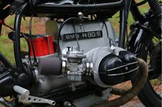 BMW R90-6 Cafe Racer - Engine