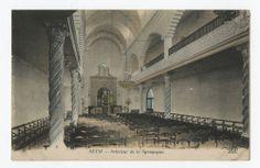 Setif - Intérieur de la Synagogue.