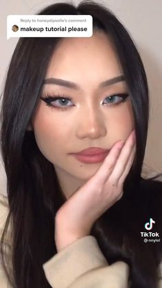 Indie Makeup, Edgy Makeup, Grunge Makeup, Asian Makeup, Cute Makeup, Pretty Makeup, Beauty Makeup, Makeup Tutorial Eyeliner, Makeup Looks Tutorial