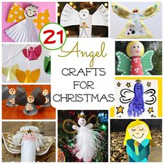 21 Angel Crafts to Get Kids Ready for Christmas
