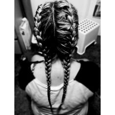 Another picture of my super cute plaits yesterday, I was obviously very excited about having plaits for the first time in years #bigchild #hairstyles #blackandwhite #plaits #frenchbraids