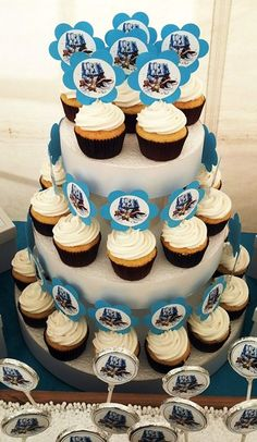 Ice Age Picture Cupcakes