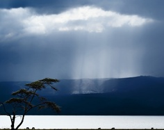 Clouds over lake Naivasha by Piet Flour