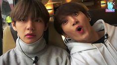 V and Jungkook ❤ #BTS #방탄소년단 Bon Voyage Memory Film (Photo Essay).