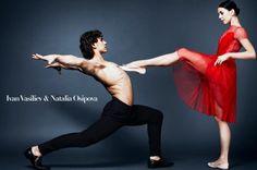Ivan Vasiliev and Natalia Osipova for Vogue USA - Photo: © Kai Z Feng