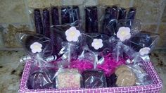 Edible gift basket  Chocolate covered pretzels, chocolate covered nutter butters, cake pops, rice krispies