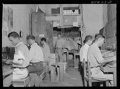 • Title: Yauco, Puerto Rico. In a small cigar factory. These cigars are made for local consumption and sell for about two cents • Creator(s): Delano, Jack, photographer • Date Created/Published: 1942...