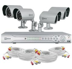 Mace Security MVK-SQ8CH4CAMB MaceView SQ80 and 4 Cam IR Bullet System Kit by Mace. $885.21. This MaceView SQ System Kit comes with an 8 Channel DVR and 4 IR Bullet Cameras. This system kit includes everything you need for an overall video surveillance system with the best quality products packaged in an easy to use and convenient system kit that comes ready to install.