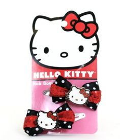 - HELLO KITTY RED AND BLACK HAIR BOWS LOUNGEFLY OFFICIAL WEBSITE $13.00