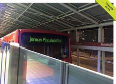 Jorman Pippalopötkö (George's Party Tube) - Renting a limousine is so last season. In Helsinki you can rent a metro train or a tram for your own very VIP party.