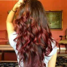 I absolutely love the colors......This is exactly how I want my hair!!!!!!
