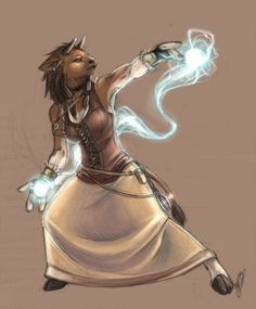 fantasy female minotaur art - Google Search