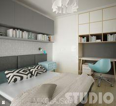 Skandynawska sypialnia - zdjęcie od MIKOŁAJSKAstudio - Sypialnia - Styl Skandynawski - MIKOŁAJSKAstudio