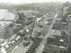 Early Boston, concrete pipes