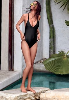 d355d78cab New post on martintgp One Piece Swimwear, Black One Piece Swimsuit, Cheeky  One Piece