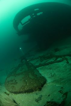 "Shipwreck ""Minneapolis"" Lake Michigan Abandoned Ships, Abandoned Castles, Abandoned Places, Abandoned Mansions, Great Lakes Shipwrecks, Scuba Diving Equipment, Abandoned Amusement Parks, Lake Michigan, Under The Sea"