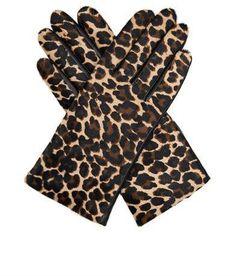 Pin for Later: Leopard-Prints sind tatsächlich gemacht für jedermann Agnelle Handschuhe Agnelle Handschuhe aus Leder und Ponyfell (139,24 €)