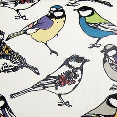 Hola Bird Wallet Purse detail from www.cloth-ears.co.uk  #disasterdesigns #bird #illustration #retro #fashion #disasterdesign #bluetit #accessories