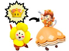 Daisyette concept updated to a far better and fitting idea : Princess Dayzee based on a Crazee Dayzee, potential minion for Princess Daisy taking an appearance very close to its Princess. Super Mario Bros, Super Smash Bros Memes, Nintendo Super Smash Bros, Super Mario World, Princess Peach Mario Kart, Nintendo Princess, Princesa Daisy, Princesa Peach, Yoshi