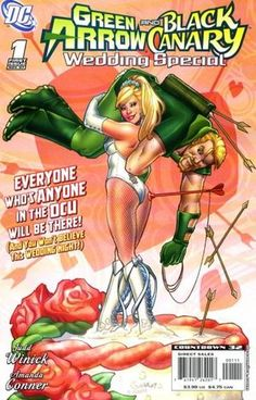 Cover for Green Arrow and Black Canary Wedding Special #1 (2007)