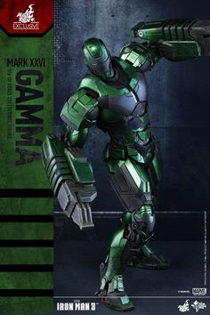 Iron Man Gamma Hot Toys Exclusive Figure MMS