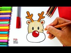 Aprender A Dibujar A Papa Noel Muy Facil How To Draw Santa Claus