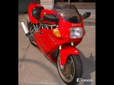 1995 Ducati 750 SS ...  my first
