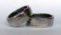Kennedy Half Dollar Coin Ring by TCSCustoms on Etsy