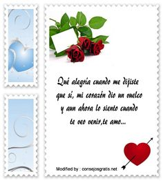 palabras y tarjetas de amor para mi novia,originales mensajes de romànticos para mi novia con imágenes gratis: http://www.consejosgratis.net/frases-para-mi-princesa/